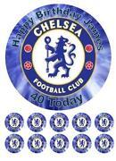 Chelsea Cake Topper