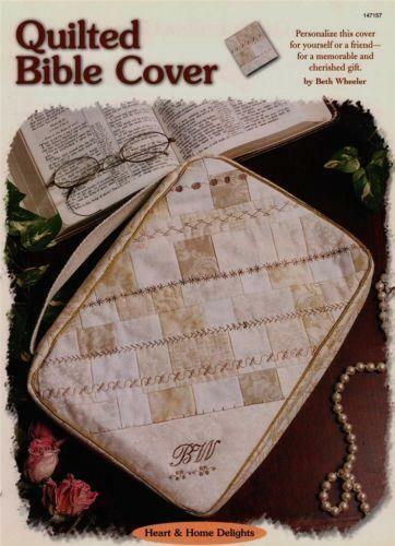 Quilted Book Cover Pattern : Bible quilt patterns ebay