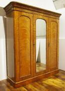 Antique Triple Wardrobe