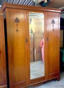 Timber Wardrobe