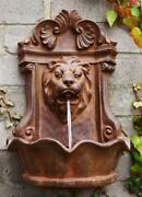 Lion Water Feature