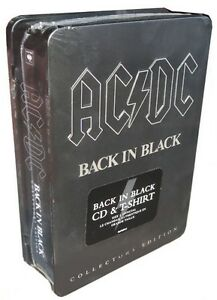 AC/DC Gift Set - T Shirt and Album (NEW) Regina Regina Area image 1