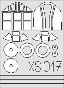 EDUARD XS017 Masking set per Messerschmii 109G Hasegawa scala 1/72 - Italia - L'oggetto può essere restituito - Italia