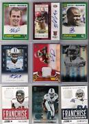 Autograph Football Card Lots
