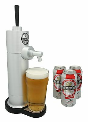 Compact Beer Tap Stylish Home Draught Pump Canned Drinks Bar Pint Home Dispenser