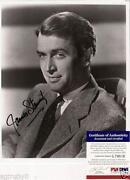James Stewart Autograph