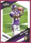 Percy Harvin Autograph