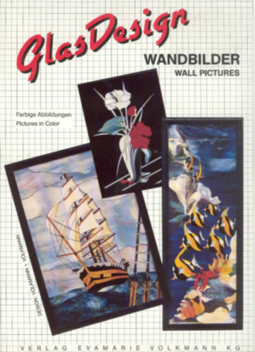 GLAS DESIGNS WANDBILDER (WALL PICTURES) Stained Glass Patterns (NEW, 1994)