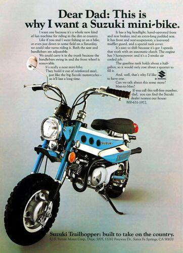 on 1971 Honda Ct70