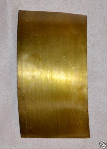 Brass foil crafts ebay for Thin aluminum sheets for crafts