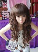 Long Wavy Light Brown Wig