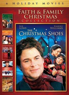 FAITH & FAMILY CHRISTMAS COLLECTION New DVD 6 Films Shoes Blessing Hope (Faith Blessings Collection)
