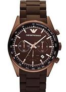 Armani Watch Men Brown