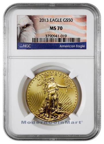 Ms70 Gold Eagle 50 Ngc Ebay
