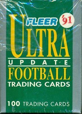 1991 Fleer Ultra Football Update Factory Sealed Set w/Favre - 1991 Fleer Ultra Football