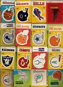 Fleer Football Stickers