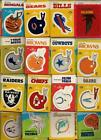 Fleer Football Stickers