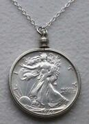Half Dollar Necklace