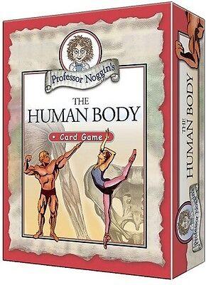Professor Noggin's Human Body  Card Game (Professor Noggin)