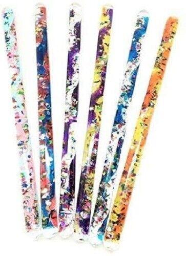 """Glitter Mystical Wand. 12"""" Wonder Tube Wand"""