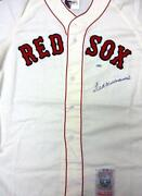 Ted Williams Signed Jersey