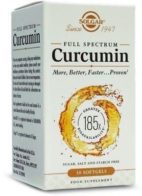 ( Solgar Full Spectrum Curcumin (30 Softgels))
