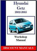 Hyundai Workshop Manual
