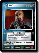 Star Trek CCG Worf