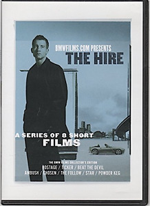 """Collector's edition of BMW's """"The Hire"""" (A Series of 8 Short Fil"""