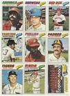 1977 Topps Baseball Card Lot