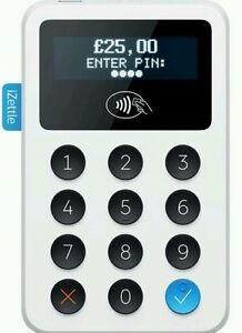 New Model iZettle Chip and PIN Card Reader with Contactless Payment - UK PARTNER