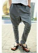 Low Crotch Pants Men