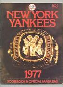 1977 Yankees Yearbook