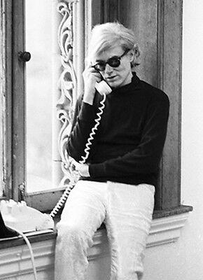 Andy Warhol by Marshall Swerman