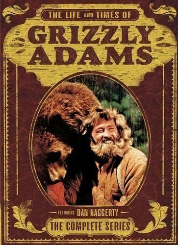 The Life and Times of Grizzly Adams: The Complete Series Dan Haggerty [DVD]