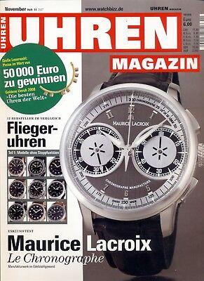 Uhren Magazin November 11/2007
