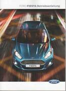 Bedienungsanleitung Ford Fiesta
