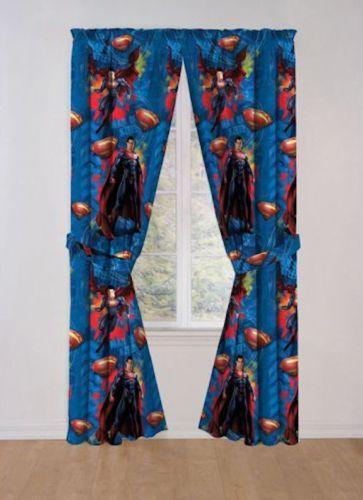 Superman Curtains Ebay