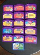 LeapPad Games Lot