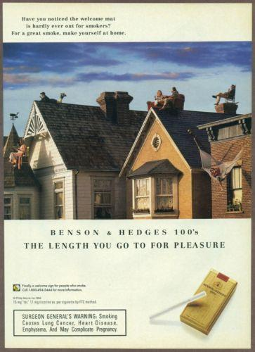Pall Mall cigarettes are nasty