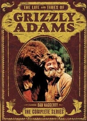The Life and Times of Grizzly Adams: The Complete Series [New DVD] Boxed Set,