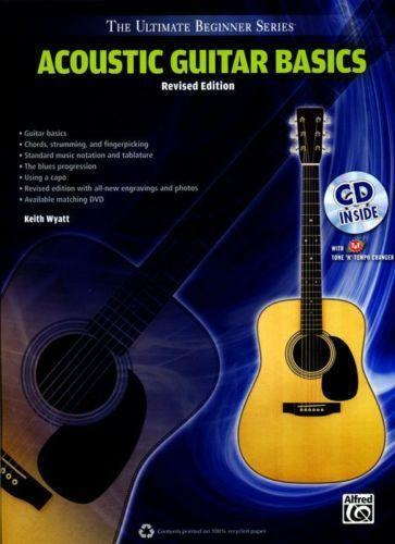 beginner acoustic guitar book ebay. Black Bedroom Furniture Sets. Home Design Ideas