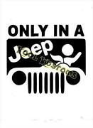 Funny Jeep Stickers