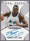 Shaquille O'Neal Autograph Basketball Cards