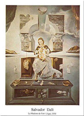 La Madonna Di Port Lligat by Salvador Dali 12x9.5 Museum Art Print Poster