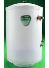 Mega Flow 125 Litre Mains Pressure indirect hot water Cylinde