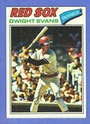 Dwight Evans Baseball Card