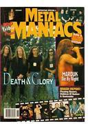 Metal Maniacs Magazine