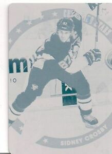 CARTE DE HOCKEY SIDNEY CROSBY PLATE