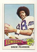 1975 Topps Football Card Lot
